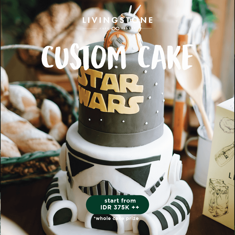 Cool Star Wars Livingstone Cafe Bakery Personalised Birthday Cards Cominlily Jamesorg